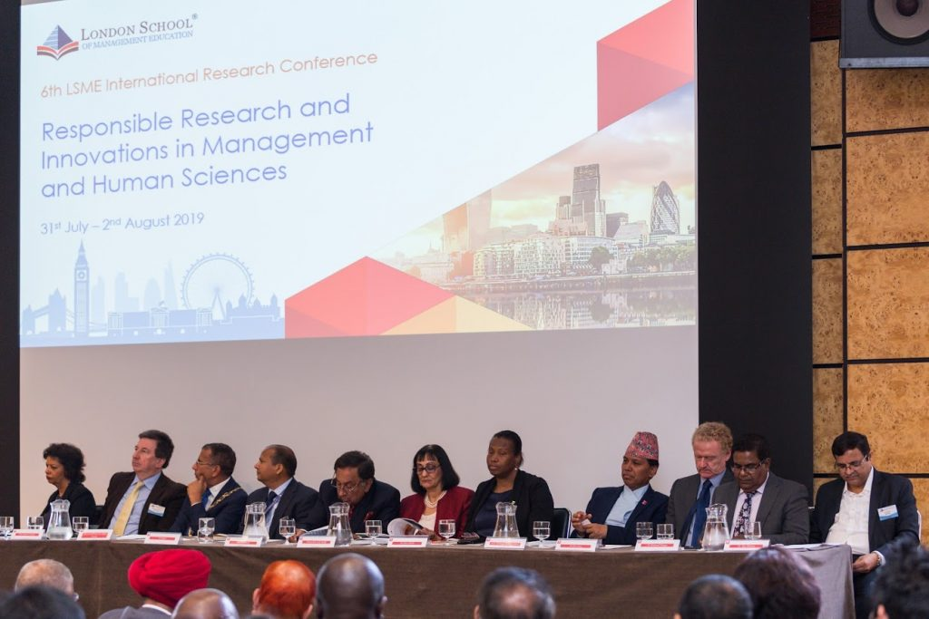 London Conference 2019 – London School of Management Education
